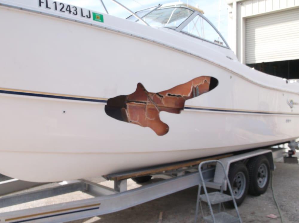 Pro marine repair inc boat repair englewood fl for Small outboard motor repair near me