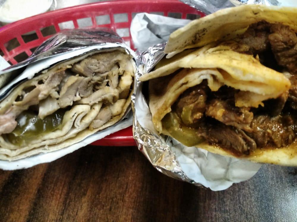 Beef Shawarma Pita Chicken And Beef Shawarma
