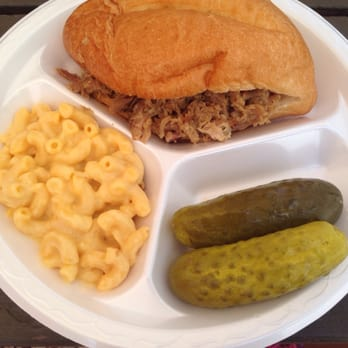 Smokin' T/D BBQ - Hot Springs, SD, United States. Pulled pork sandwich ...