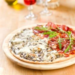 pizza a la truffe noir et jambon de…