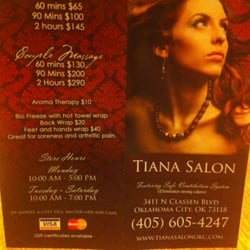 Tiana s salon spa asia district oklahoma city ok for 9309 salon oklahoma city