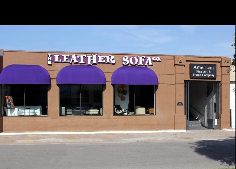 The Leather Sofa Furniture Stores Design District