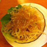Sojaprossen Salat