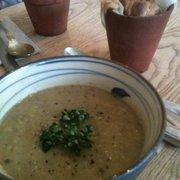 Aubergine & Parsnip Soup