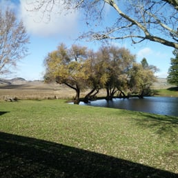 Picnic grounds and duck pond