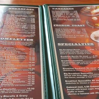 Cafe Del Sol Menu Los Alamitos