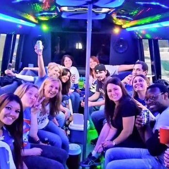 ChiTown Party Bus - Chicago, IL, United States. Ready to party!!! Thanks, Carol!'