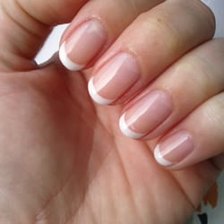 La Jolie Nail Spa - Shellac french manicure by Lily - Palo Alto, CA