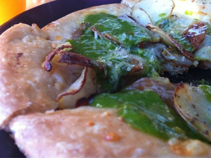 ... San Francisco, CA, United States. Roasted potato & grilled onion pizza