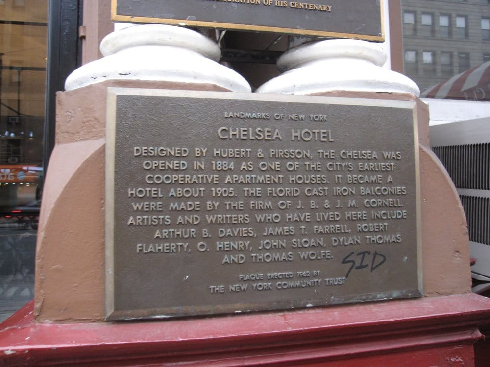 Hotel Chelsea - New York, NY, United States