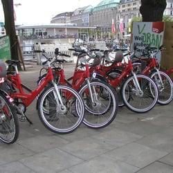 StadtRAD Jungfernstieg / Neuer Jungfernstieg St. 2523, Hamburg