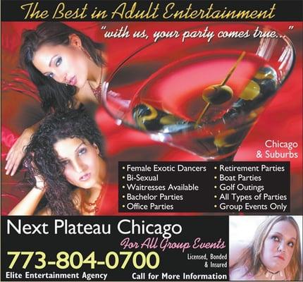 Next Plateau Chicago - Adult Entertainment - Chicago, IL - Yelp: www.yelp.com/biz/next-plateau-chicago-chicago