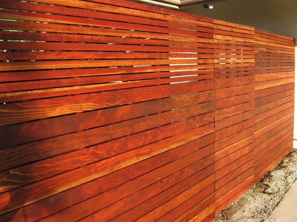 how to clean a steel fence