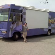 Prevent Blindness Northern California - Gary getting ready to drive the new See Well To Learn mobile exam van. - San Francisco, CA, Vereinigte Staaten