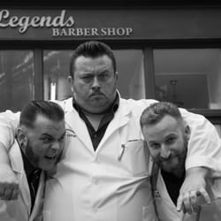 The Legends Barber Shop Team