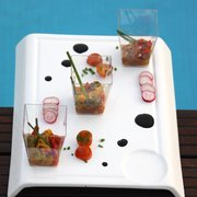 tapas by the pool