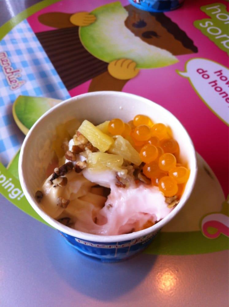Peach-Mango Sorbet Recipe — Dishmaps