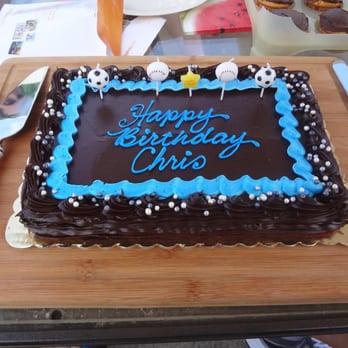 Cake Chef Staten Island Menu