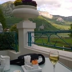 Preciosa terraza con vistas al lago de…