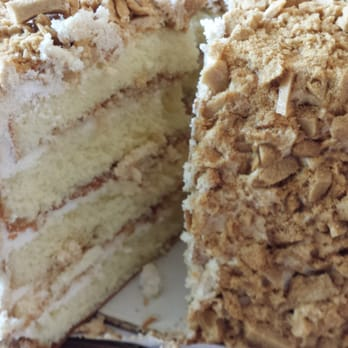 Coffee Crunch Cake In Japantown