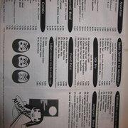 Himitsu Teriyaki - Printed menu back - Bothell, WA, Vereinigte Staaten
