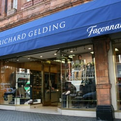 The Richard Gelding menswear store on North Audley Street