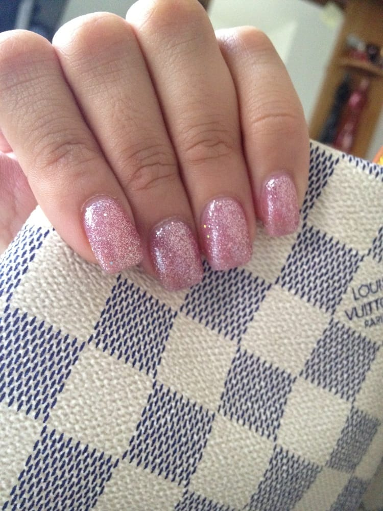 Pink Glitter Gel Nail Polish Pink Glitter Gel Nail Polish