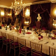 BBB's decadent Ballroom is ideal for private dining for up to 70 guests and champagne canape receptions for up to 125.