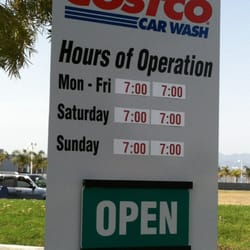 Costco Car Wash Hours Of Operation