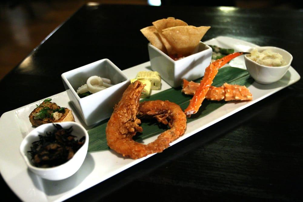 ... Omelet, Shrimp Ceviche, Asparagus, Potato Salad, King Crab, Fried
