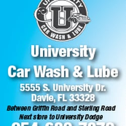 University Car Wash And Lube Davie