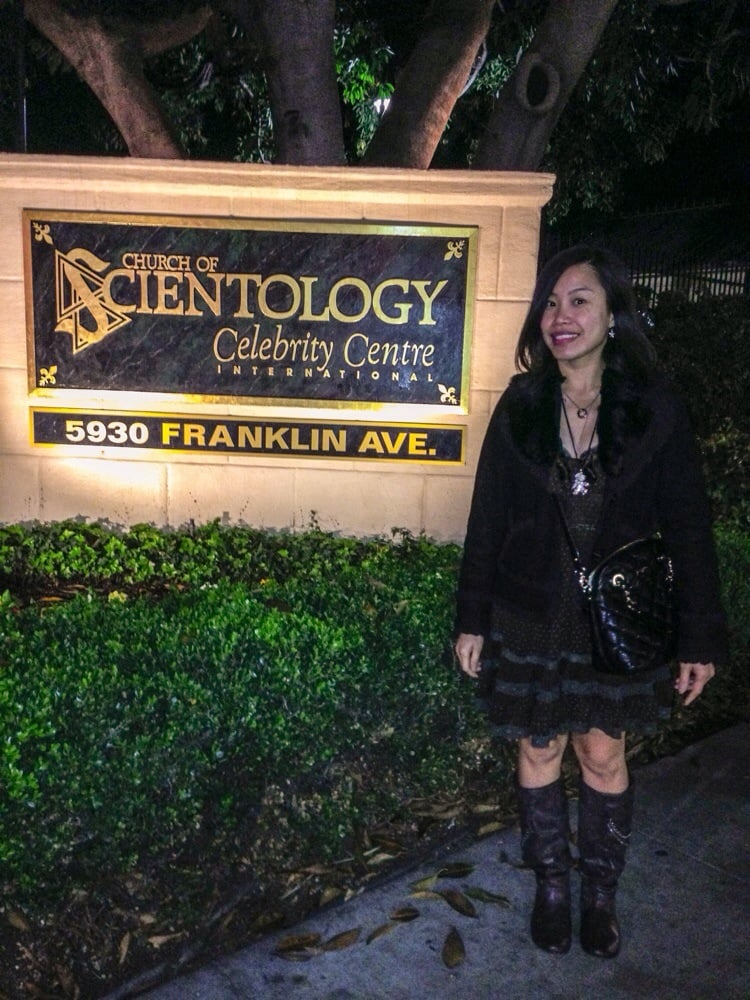 Church of scientology celebrity centre hollywood