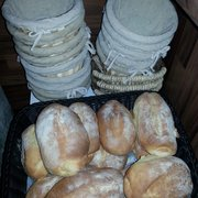 Self made bread every day!