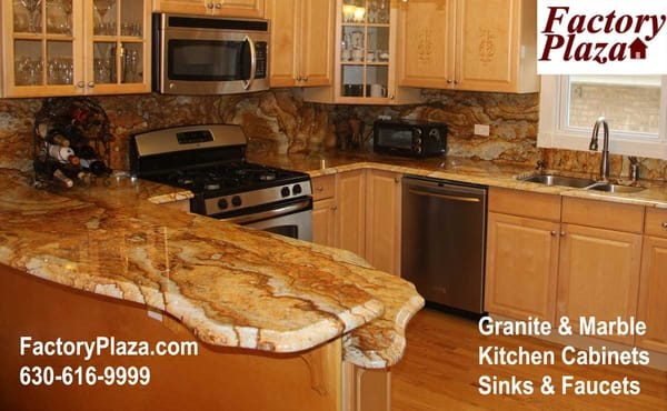 Granite Slabs Near Me : Factory Plaza, Inc - exotic granite countertops, Chicago - Bensenville ...