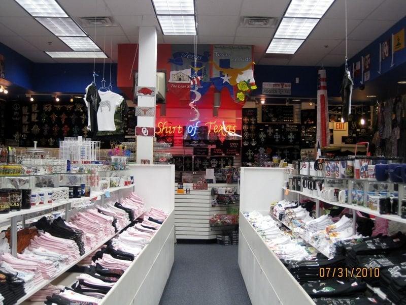 T shirt of texas souvenirs accessories farmer 39 s branch for Wholesale t shirts dallas tx