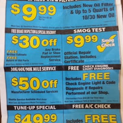 Discount smog coupons las vegas