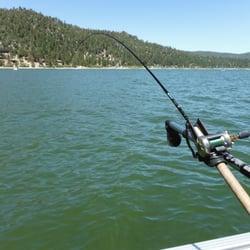 Big bear charter fishing fishing big bear lake ca for Fishing in big bear