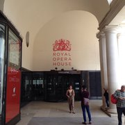 Entrance to the royal opera house