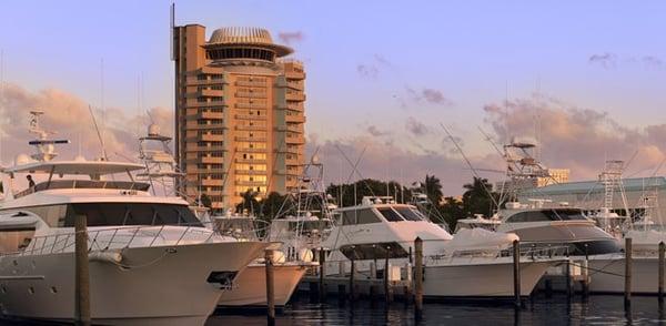 Plage De Fort Lauderdale Photos libres de droits - Image: 4271648