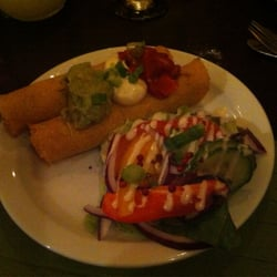 Soft shell crab flautas - great and GF!