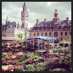 Marché aux fleurs de Lille