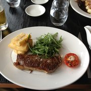 Steak from Brunch/Lunchtime menu at Paramount.