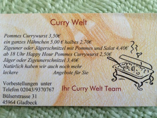 Curry Welt