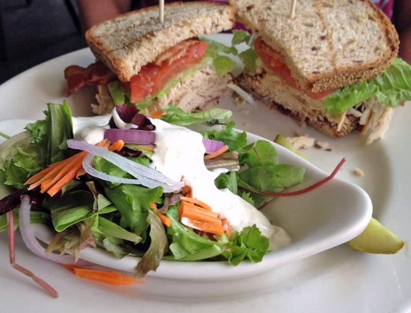 Turkey Club Sandwich Salad Recipes — Dishmaps