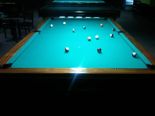 the only 10 foot pool table in las vegas heated slate