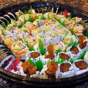 The Old Town Farm Inn - Chester, VT, États-Unis. Sushi party platters  and catering available