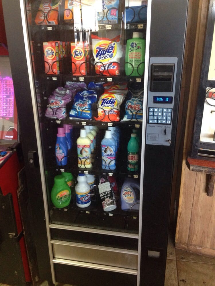 laundry soap vending machine