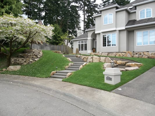 Landscaping Rocks Puyallup : New dimension lawn landscape landscaping
