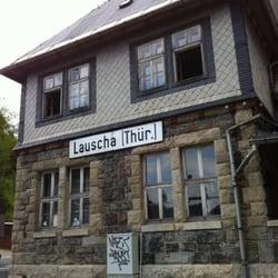 Bahnhof Lauscha, Lauscha, Thüringen
