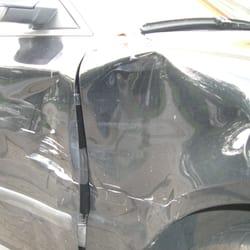 Bei Unfallschäden sowie Blecharbeiten…